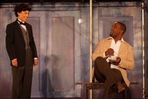 """Kalean Ung and Ryan Vincent Anderson in """"Twelfth Night"""" (Photo by Grettel Cortes)"""