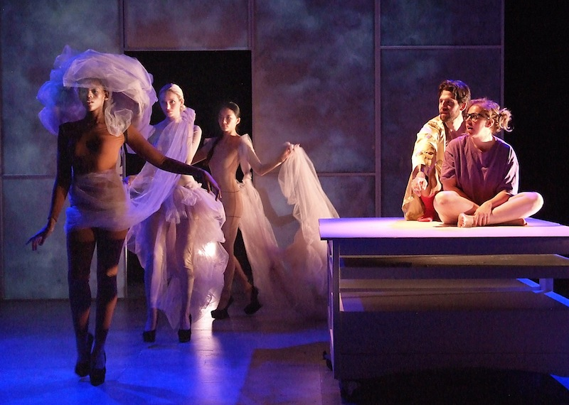 Sheila Callaghan's EVERYTHING YOU TOUCH, at Theatre @ Boston Court (Photo by Ed Krieger)
