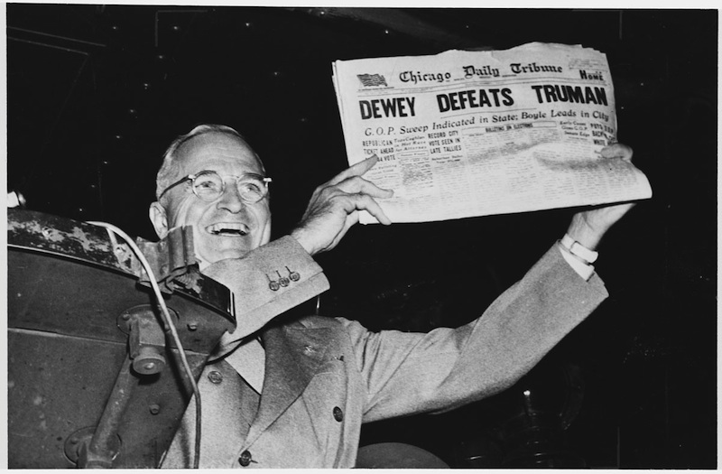 truman and polling