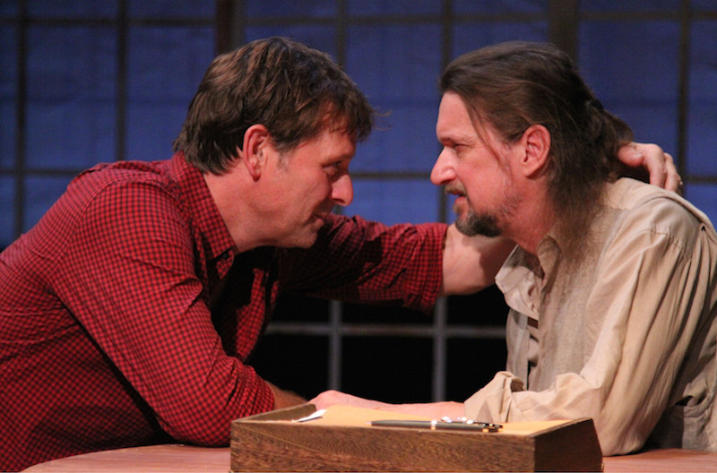 Nordling and McManus in Vanya (Photo by Karianne Flaathen)
