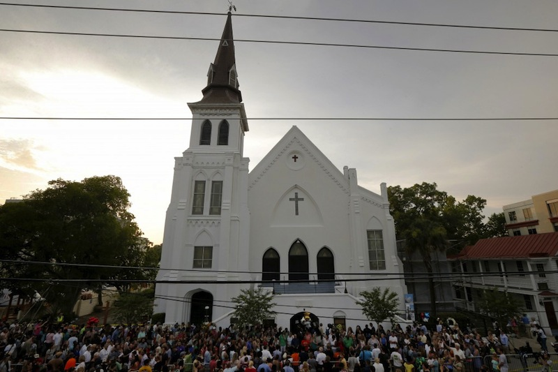 After the Shooting: Emanuel African Methodist Episcopal Church, Charleston, South Carolina