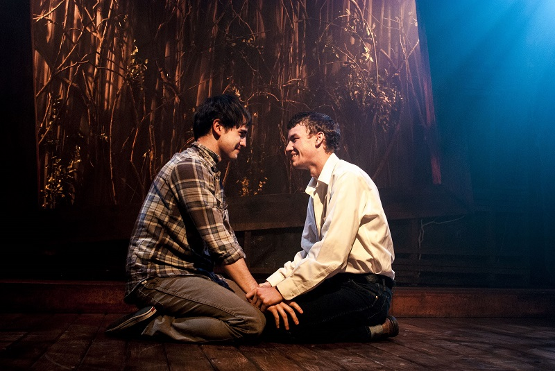 Matthew Boehm and Randall Ray Clute in Celebration Theatre's 'Dream Boy'  (Photo by Matthew Brian Denman).