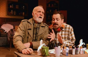 """Leon Russom and French Stewart in Padraic Duffy's """"Past Time"""" (photo by Jessica Sherman Photography)"""