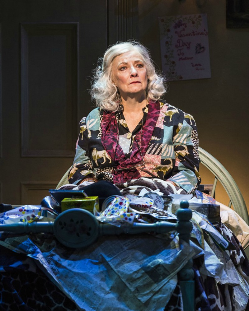 Betty Buckley in Grey Gardens The Musical at the Ahmanson Theatre (photo by Craig Schwartz)