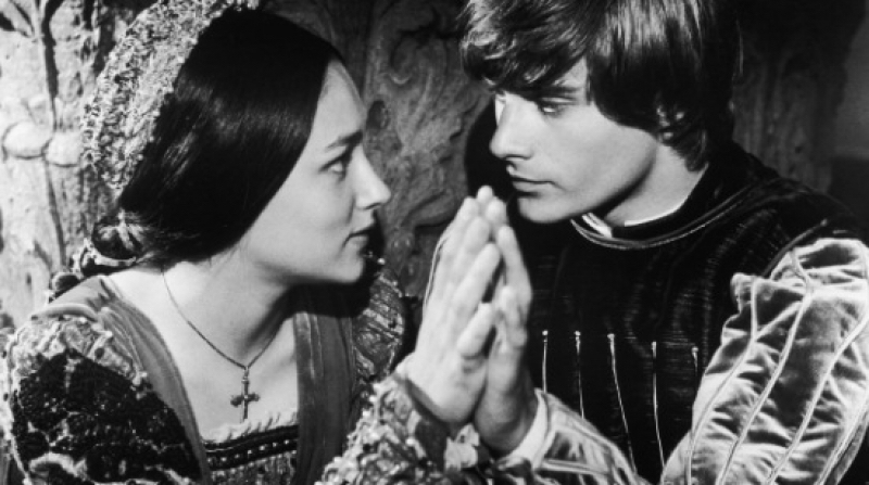ROMEO AND JULIET (1968) directed by Franco Zeffirelli, and starring Olivia Hussey and Leonard Whiting