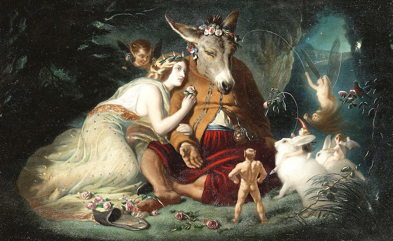 A MIDSUMMER NIGHT'S DREAM, painted by Sir Edwin Henry Landseer, circa 1850