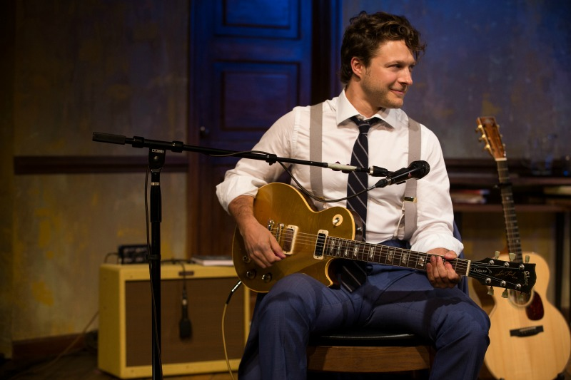 Benjamin Scheuer in The Lion  at the Geffen Playhouse (Photo by Matthew Murphy)