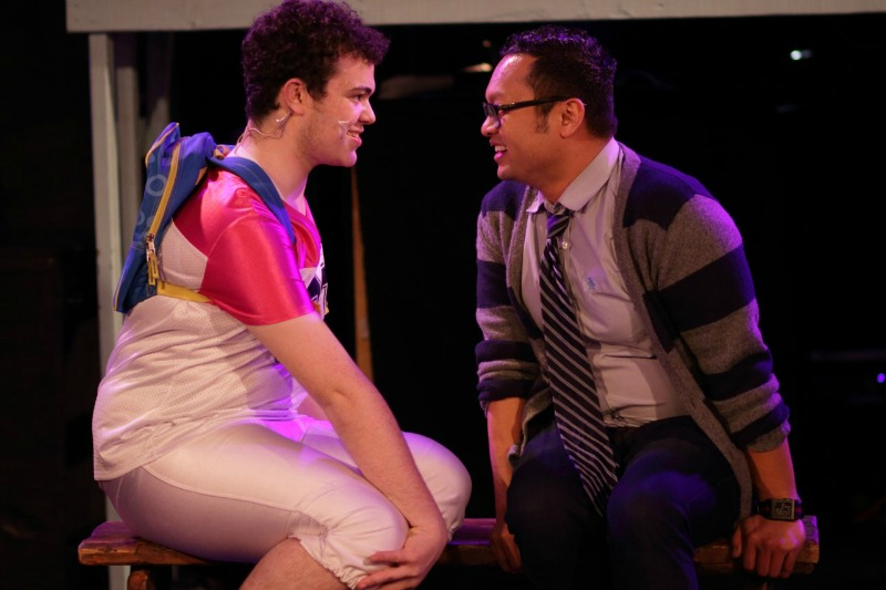 Jacob Zelonky and Everjohn Feliciano in Zanna, Don't! at Chromolume Theatre at the Attic (Photo by Tyler Vess)