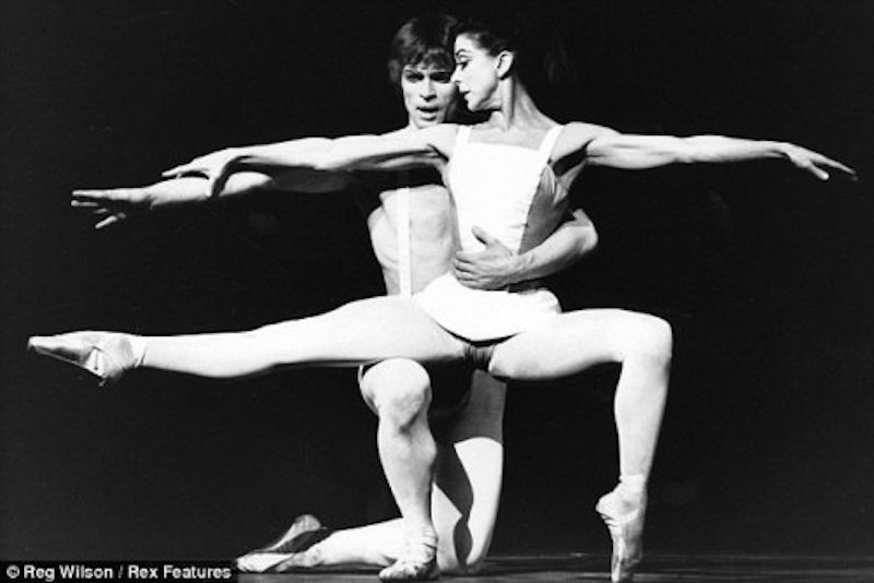 Nureyev and Fonteyn in the 1967 production of PARADISE LOST