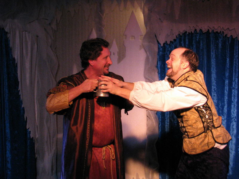 David D'Amico and Tyler Rhodes in The Winters Tale at the Archway Theatre (Photo by Steven Sabel)