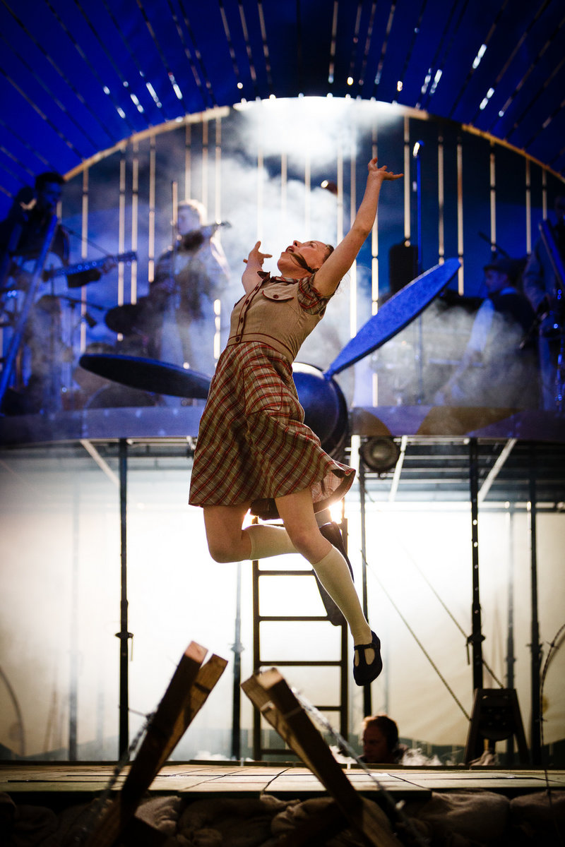 Katy Owen in 946: The Amazing Story of Adolphus Tips at the Wallis Annenberg Center for the Performing Arts (Photo  by Steve Tanner)