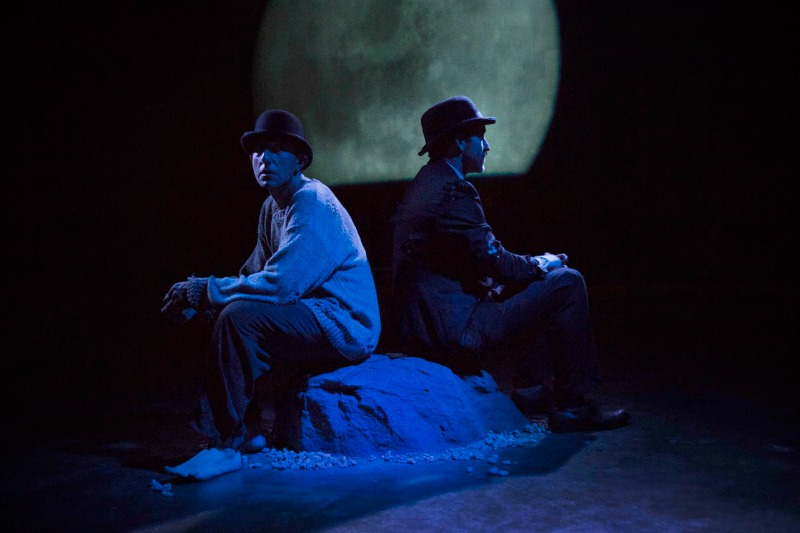 Douglas Scott Sorenson and Tommy Day Carey in Waiting for Godot at The Other Space (Photo by Julian Buchan)