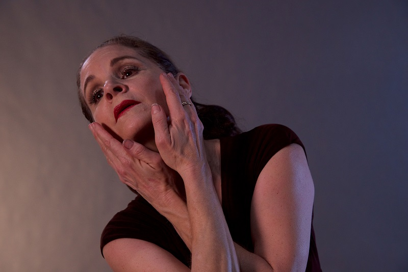 Cristina Carlisi in Martha at the Whitefire Theatre (Photo by Charles Dougherty)
