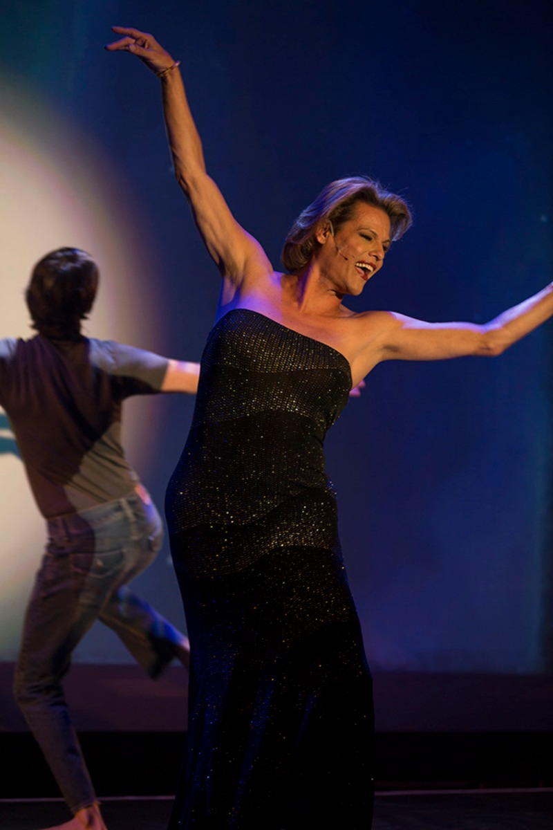 Alexandra Billings in S/He & Me at Renberg Theatre at The Village at Ed Gould Plaza (Photo by Alex Iseri)