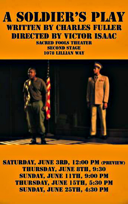 HOLLYWOOD FRINGE 2017: A SOLDIER'S PLAY