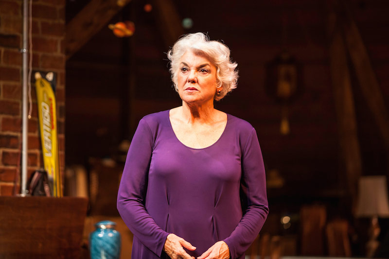 Tyne Daly in Chasing Mem'ries: A Different Kind of Musical at the Geffen Playhouse. (Photo by Chis Whitaker)