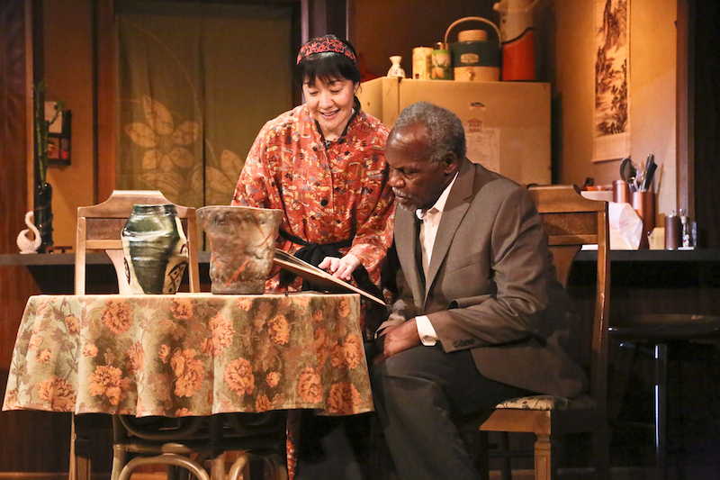 June Angela and Danny Glover inYohen at the David Henry Hwang Theater. (Photo courtesy East West Players)