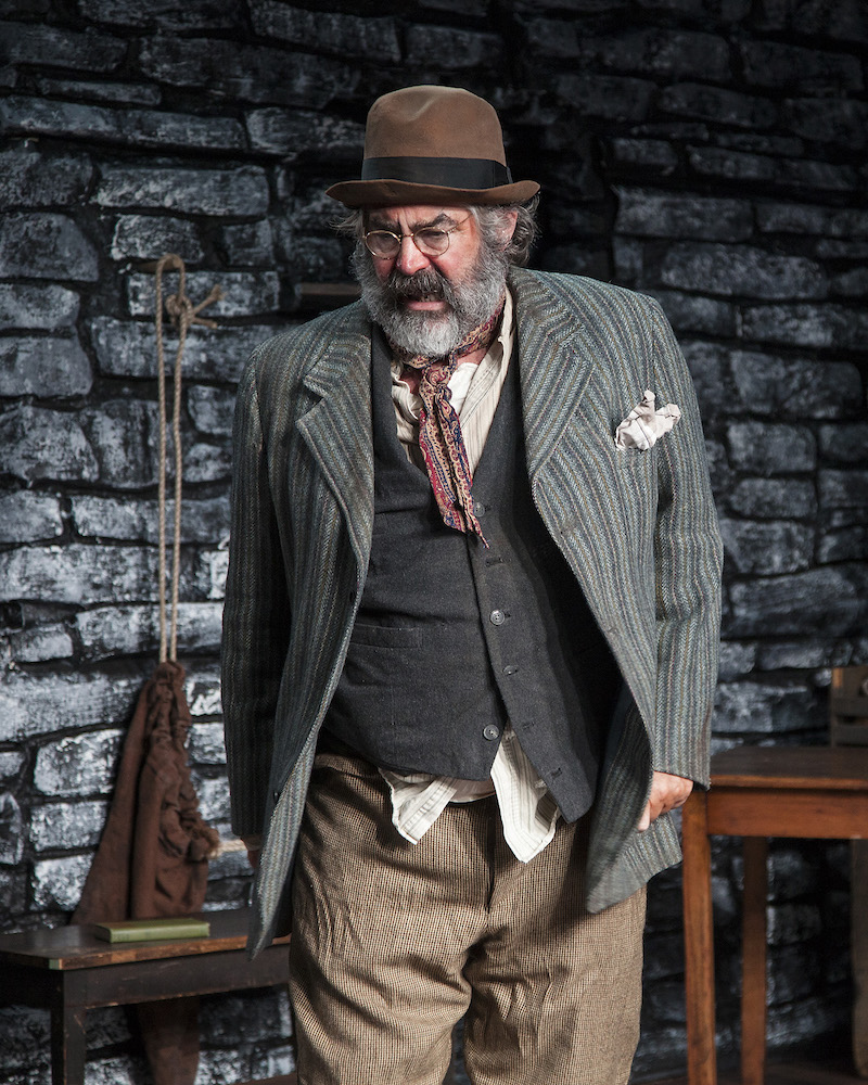 Stephen Caffrey  in The Cripple of Inishmaan at Antaeus Theatre Company. (Photo by Geoffrey Wade Photography)